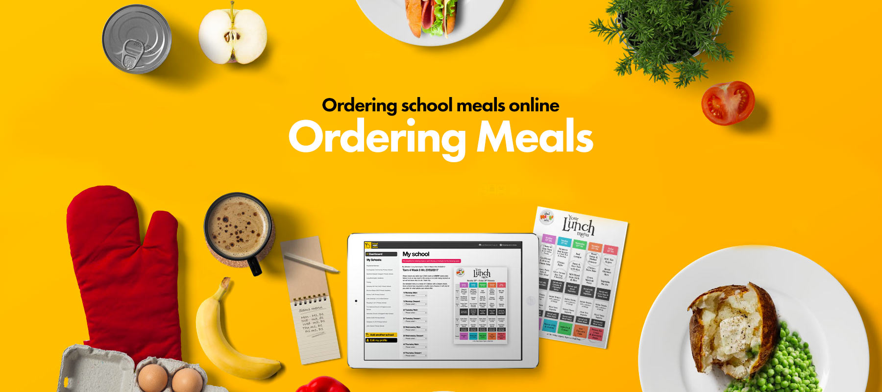 Order your school meals online NOW!